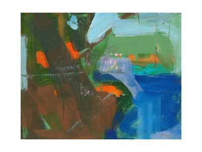 Blue Pool Fragment 3-Angela Saxon-Art Print