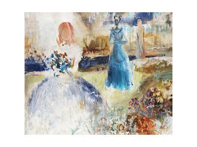 Blue Procession-Jodi Maas-Giclee Print