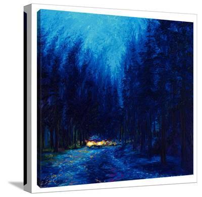 Blue Redwoods-Iris Scott-Gallery Wrapped Canvas