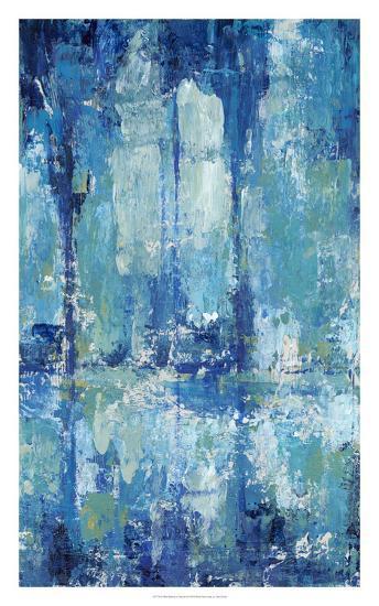 Blue Reflection Triptych II-Tim O'toole-Art Print