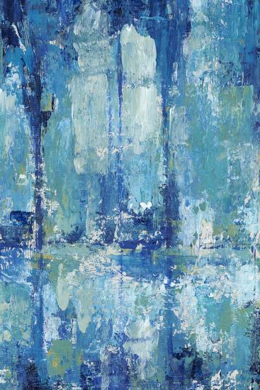 Blue Reflection Triptych II-Tim OToole-Art Print