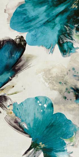 Blue Ribbon Blooms II-Asia Jensen-Art Print