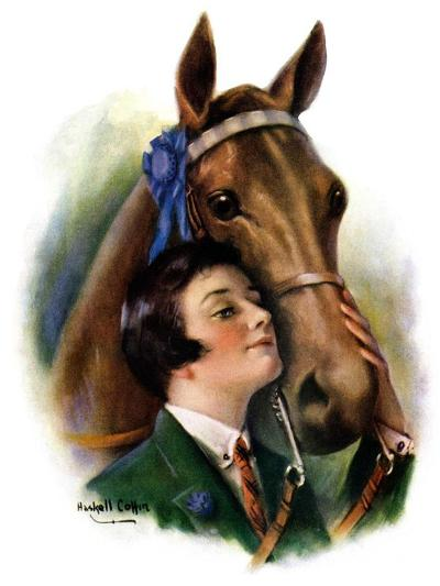 """Blue Ribbon Winner,""March 19, 1927-William Haskell Coffin-Giclee Print"