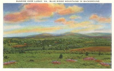 Blue Ridge Mountains, Luray, Virginia