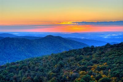 Blue Ridge Mountains-Nikographer [Jon]-Photographic Print
