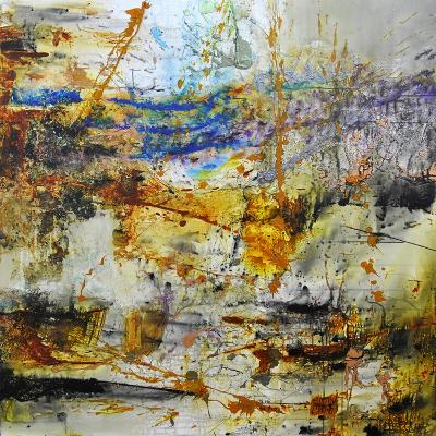 Blue Rising-Aleta Pippin-Giclee Print