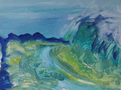 Blue River Landscape I, 1988-Brenda Brin Booker-Giclee Print