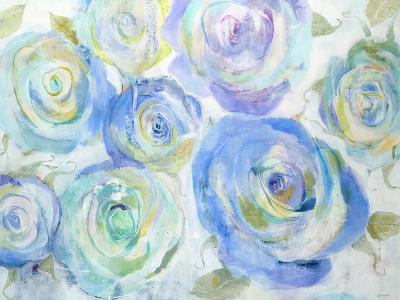 Blue Roses-Jill Martin-Art Print