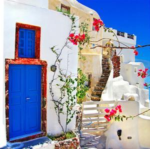 Blue SantoriniII