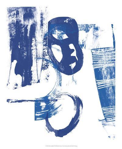 Blue Scribbles II-Vision Studio-Art Print