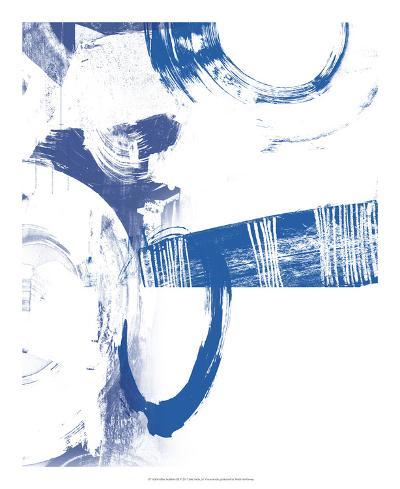 Blue Scribbles III-Vision Studio-Art Print