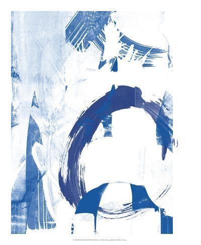 Blue Scribbles IV-Vision Studio-Art Print