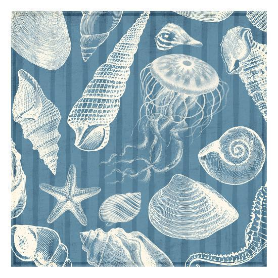 Blue Sea Mash Up-Jace Grey-Art Print