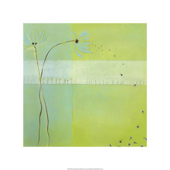 Blue Seedlings III-Erica J^ Vess-Limited Edition