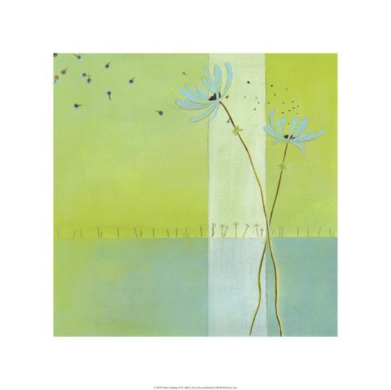 Blue Seedlings IV-Erica J^ Vess-Limited Edition