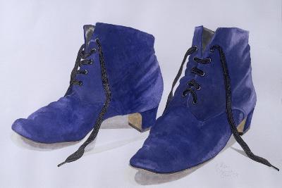 Blue Shoes, 1997-Alan Byrne-Giclee Print