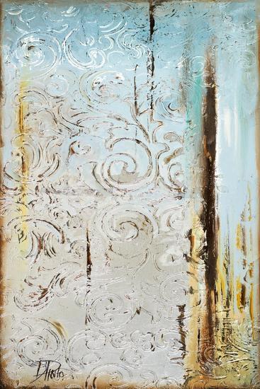 Blue Silver I-Patricia Pinto-Art Print