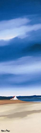 Blue Sky II-Hans Paus-Art Print
