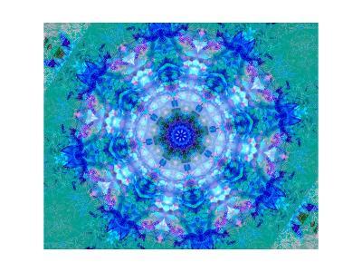 Blue Sky Mandala I-Alaya Gadeh-Art Print