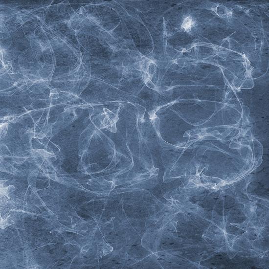 Blue Smoke 2-Sheldon Lewis-Art Print