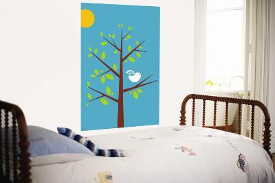 Blue Songbird-Avalisa-Wall Mural