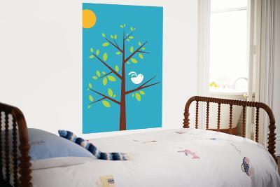 Blue Songbird-Avalisa-Giant Art Print