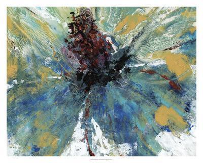 Blue Splash I-Tim O'toole-Giclee Print