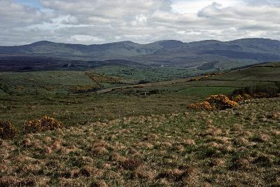 BLUE STACK Mountains, Donegal, IRELAND-Alain Le Garsmeur-Photographic Print