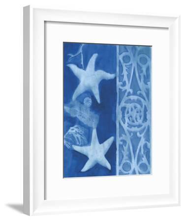 Blue Starfish 2-Smith Haynes-Framed Art Print