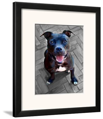 Blue Steel-Robert Mcclintock-Framed Art Print