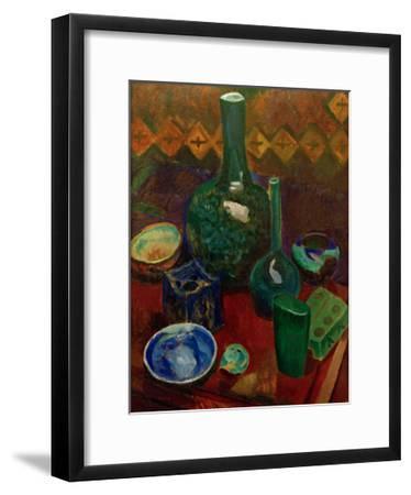 Blue Still Life, 1907/1908-Robert Delaunay-Framed Giclee Print