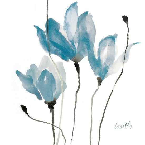 Blue Sway Square-Lanie Loreth-Art Print