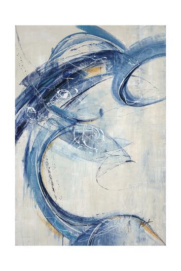 Blue Sweep-Farrell Douglass-Giclee Print