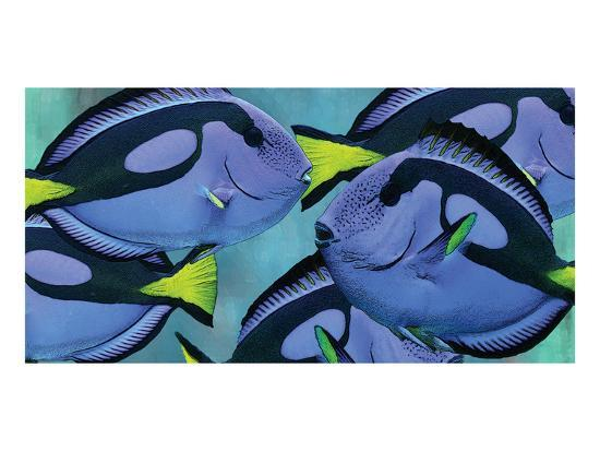 Blue Tang III-Melinda Bradshaw-Art Print