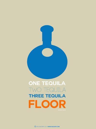Blue Tequila-NaxArt-Art Print