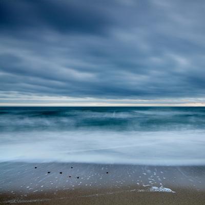 Blue Tide-David Baker-Photographic Print