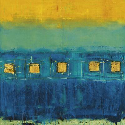 Blue Train-Anke Ibe-Art Print