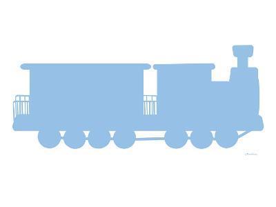 Blue Train-Avalisa-Art Print