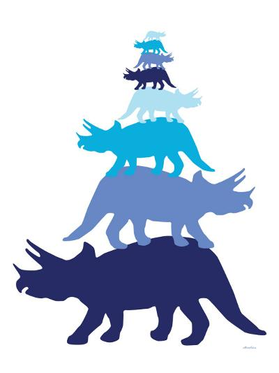 Blue Tritop-Avalisa-Art Print
