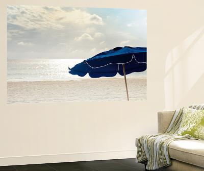 Blue Umbrella-Brookview Studio-Wall Mural