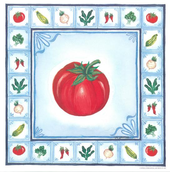 Blue Veggies II-Urpina-Art Print
