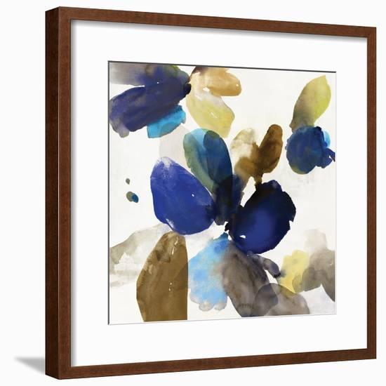 Blue Velvet I-Allison Pearce-Framed Art Print