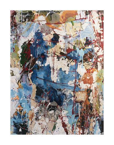 Blue View-William Montgomery-Art Print
