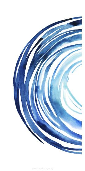 Blue Vortex I-Grace Popp-Art Print