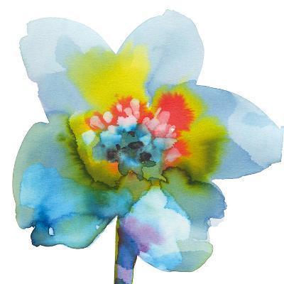 Blue Wash I-Sandra Jacobs-Giclee Print