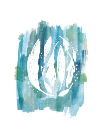 Blue Watercolor 3-Erin Lin-Premium Giclee Print