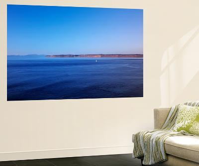 Blue Waters of the Juan De Fuca Strait, Washington, USA-Walter Bibikow-Wall Mural