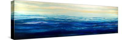 Blue Waters-Barbara Bilotta-Stretched Canvas Print
