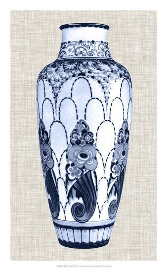 Blue & White Vase I-Unknown-Giclee Print