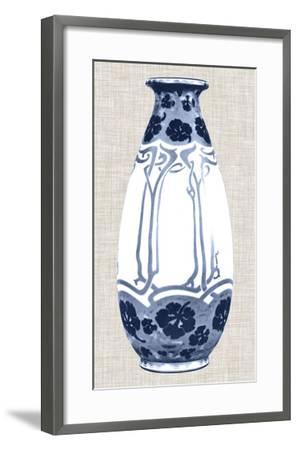 Blue & White Vase II-Unknown-Framed Giclee Print
